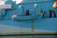Lifeboat on old polish warship 4