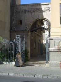 Arch near Sansoucci