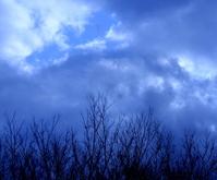 ice blue clouds