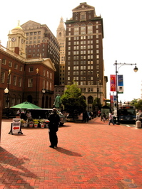 Hartford CT, Downtown, city