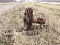 Old Mining Gears