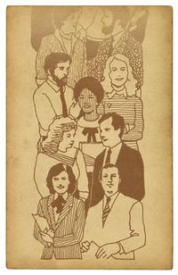 Vintage People Card