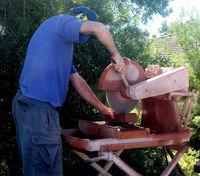 the brick cutter 1