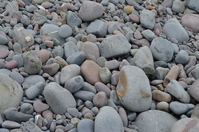 Large pebble beach