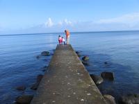 bridge in ocean