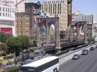 Vegas strip during daytime