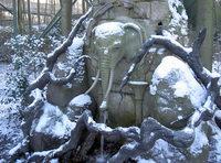 Elephant fontain