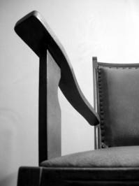Chair black-white