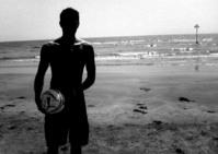 Beach Sillohette