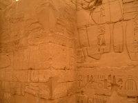 Corner of hieroglyphs