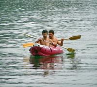 Men in the boat