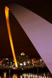 Millenium Bridge by Night