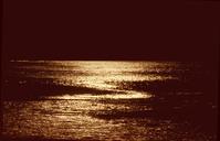Sea at moonnight