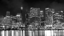 City of Sydney at night