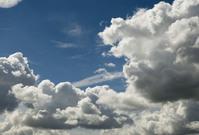 Clouds & dark blue sky