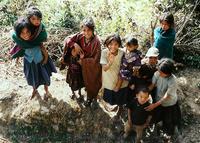 Nepali village kids