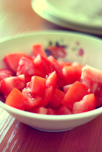 bowl tomatoes