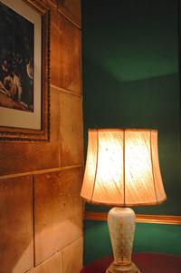 A lamp