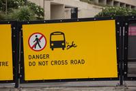 Do Not Cross Road