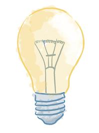 the watercolour bulb