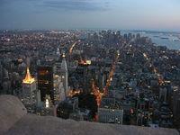 Manhattan at sunset