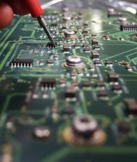 Probing a circuit board