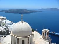 Santorini - Mediterranean Church
