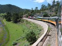 Railroad at the Tarahumara