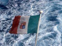 Italian ship flag