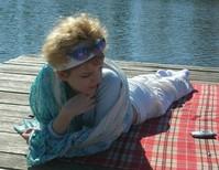 Girl on a pier 1