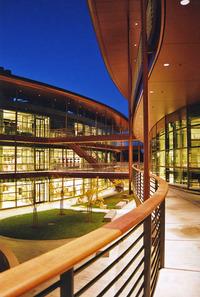 Clark Center at Dusk