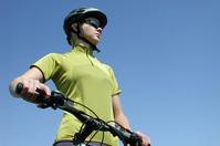 female biker 1