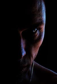 Very Dark Male Portrait