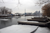 Docks of Toronto Island