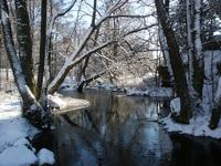 River in White