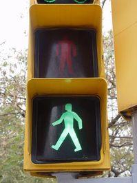 Spanish Traffic Light Green