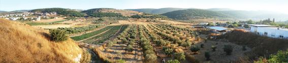 panorama in Israel
