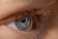 Eye of boy