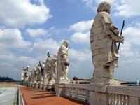Saints statues