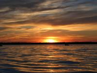 Sunset at Turtle Lake