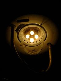 Lamp by night