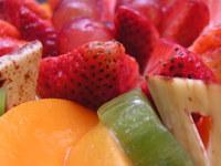 Macro of fruit cake 8