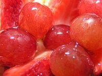 Macro of fruit cake 5