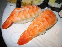 Closeup sushi