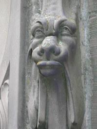 Gargoyle at Schloss Heidelberg, Germany 4
