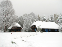 old cabin in herirtage park 13