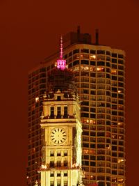 chicago city night