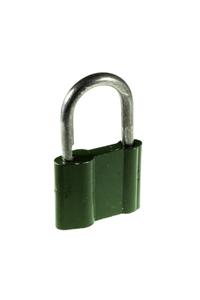 Used padlock