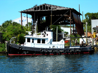 Tugboat in Tarpon Springs