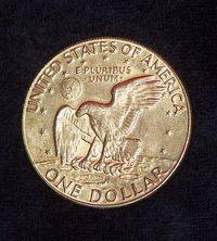 One gold Dollar 1